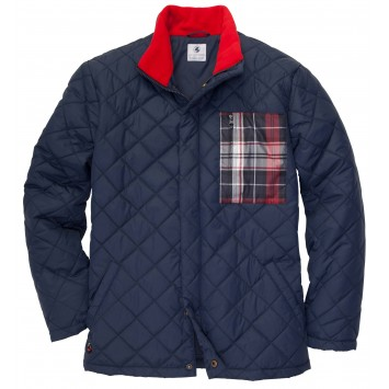 Quilted Full Zip Jacket
